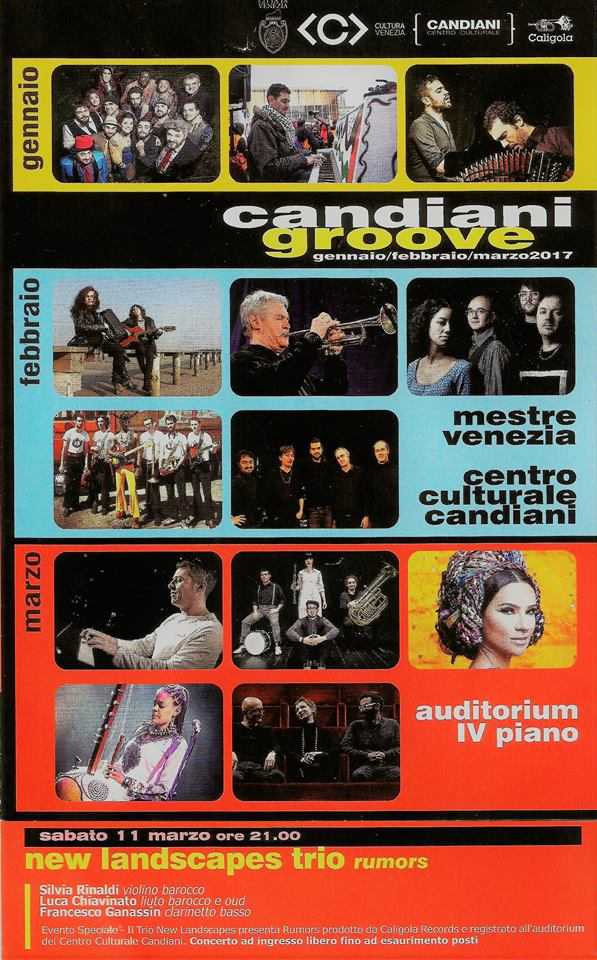 Locandina Candiani Groove 2017
