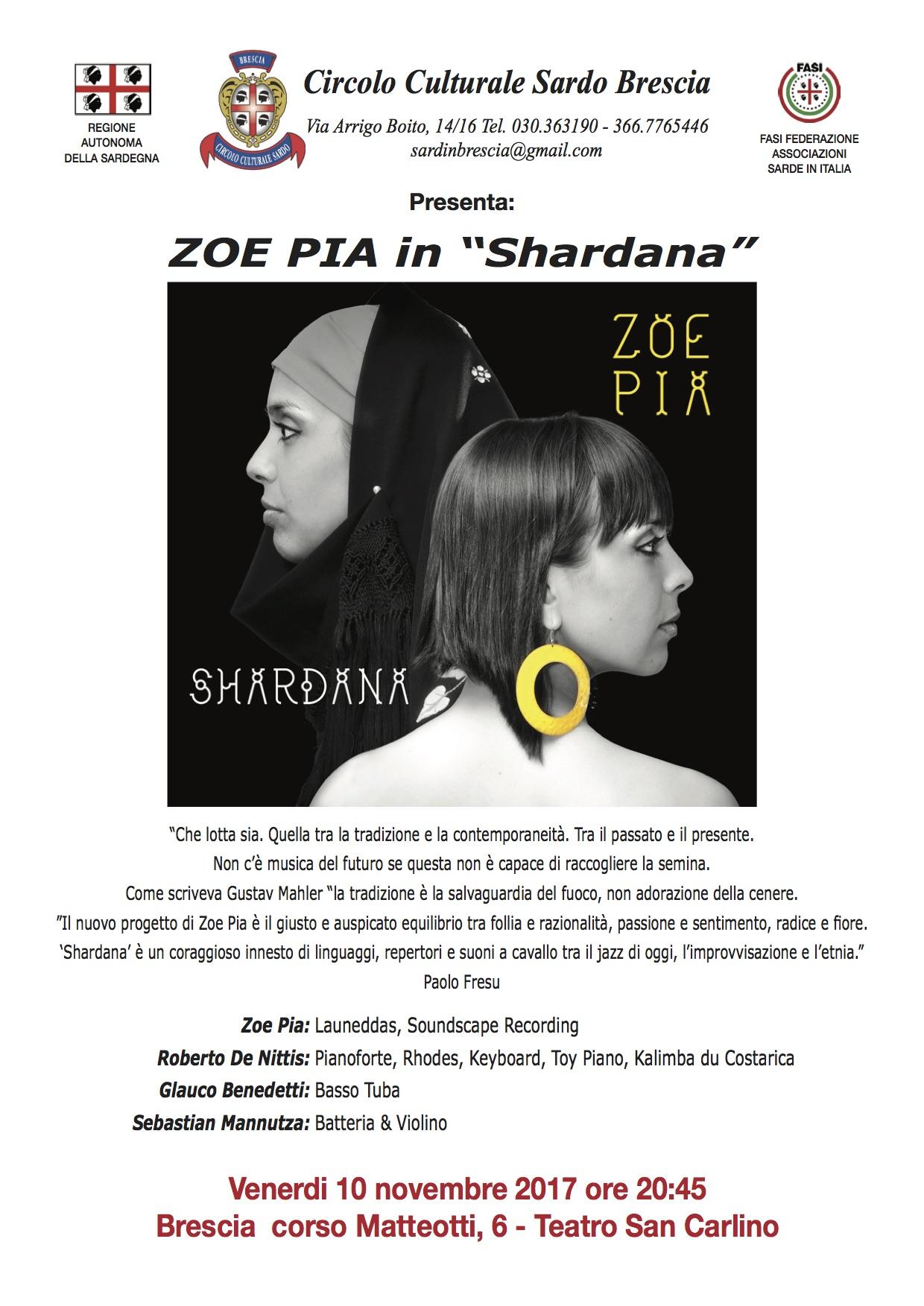 Zoe Pia Shardana BRESCIA
